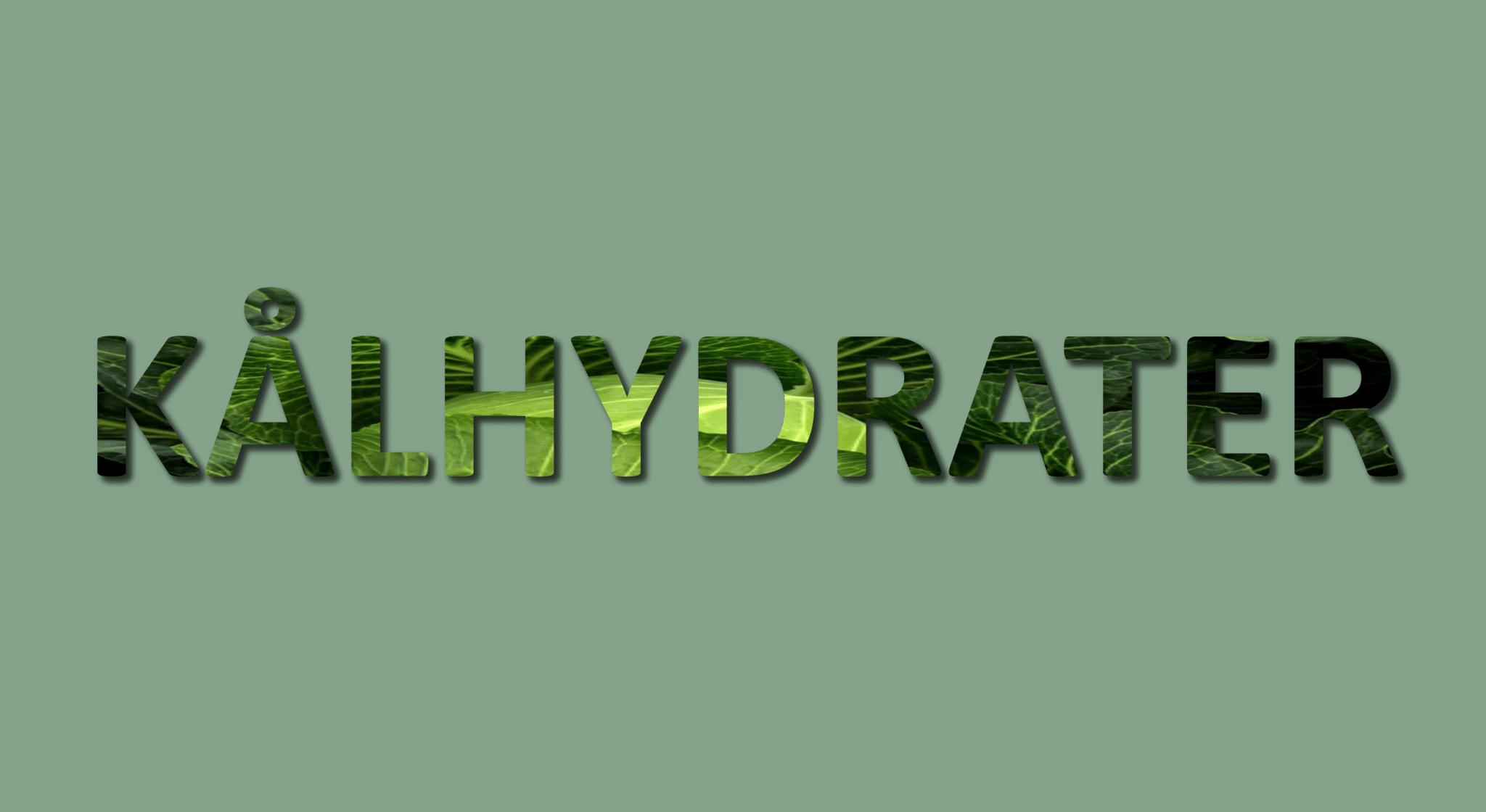 Kålhydrater